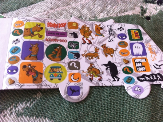 Scooby-Doo stickers also work as Halloween-themed crafting supplies, right?