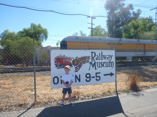 The Orange Empire Railway Museum in Perris, CA, is open 9 a.m.-to-5 p.m. most days year-round and admission is free. Train rides run Saturdays and Sundays for an additional cost per rider.