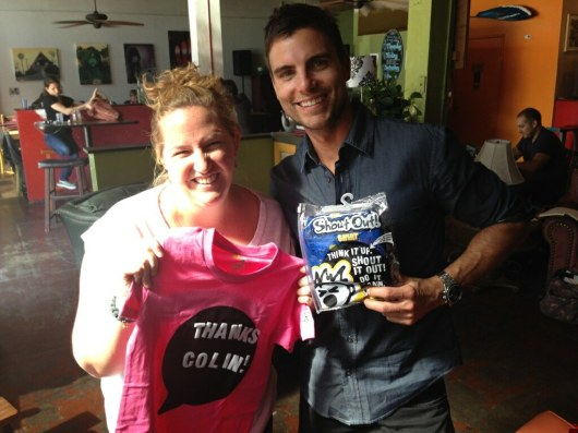 Why am I thanking Colin Egglesfield? Keep reading to find out!