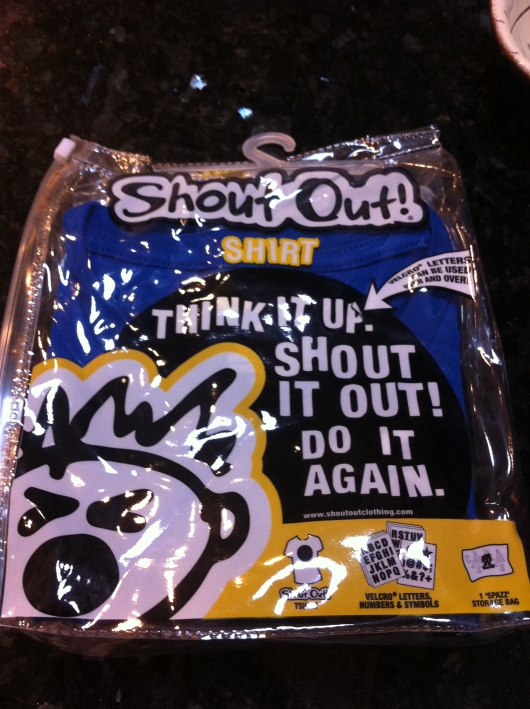 Shout Out! Clothing pack for kids.