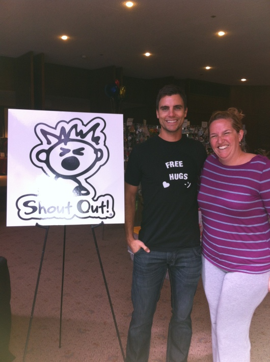 Great to see you again, Colin Egglesfield!