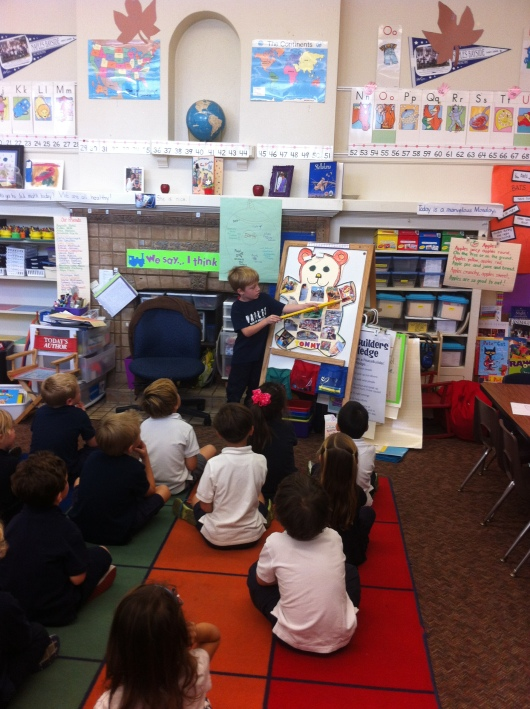 T presents Beary Potter to his class!