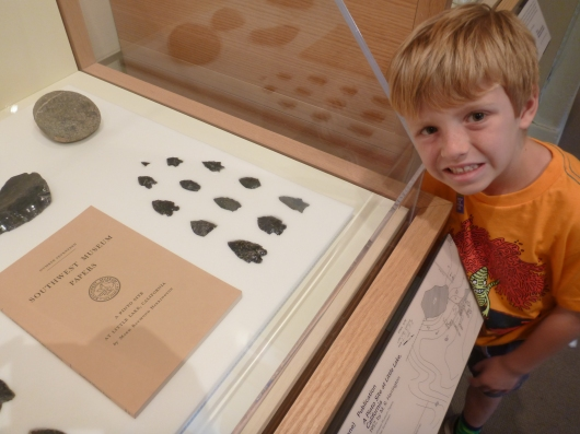 T found the arrowheads!