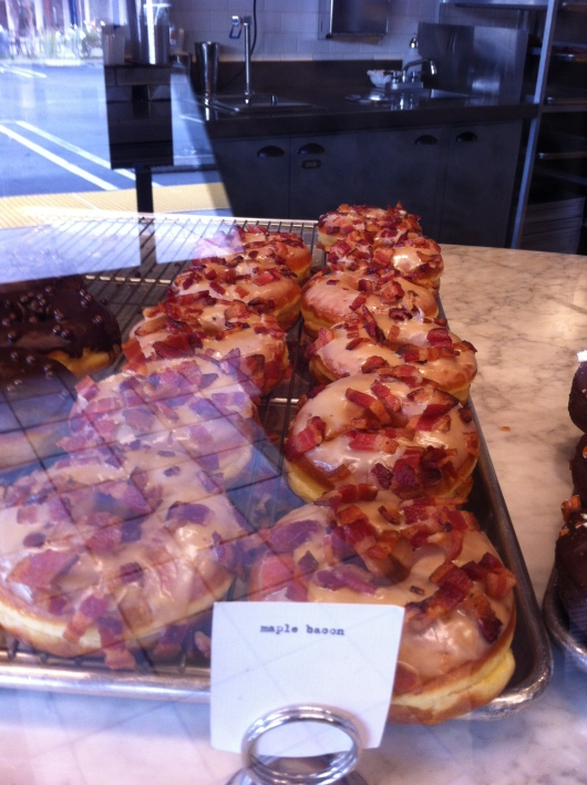 Maple Bacon Raised at Sidecar Doughnuts.