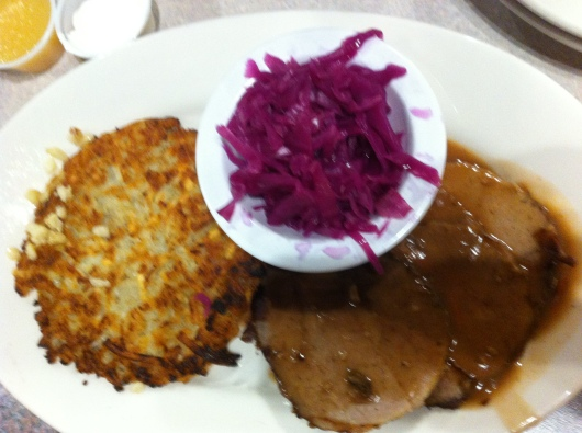 This was some sort of roast dish, a special on Wednesdays during Rick & Brian's German Night.