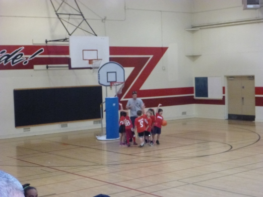 Woot! It's basketball season with Long Beach Parks and Rec!