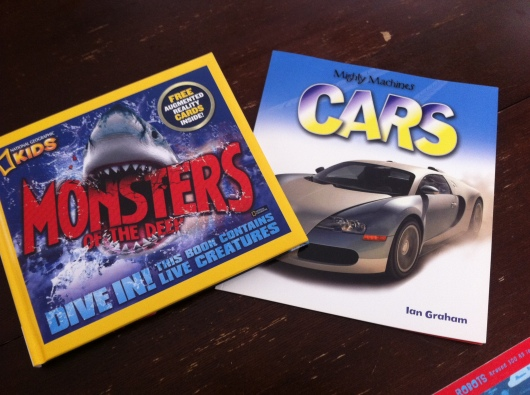 T took home these two books from this year's Festival of Books.