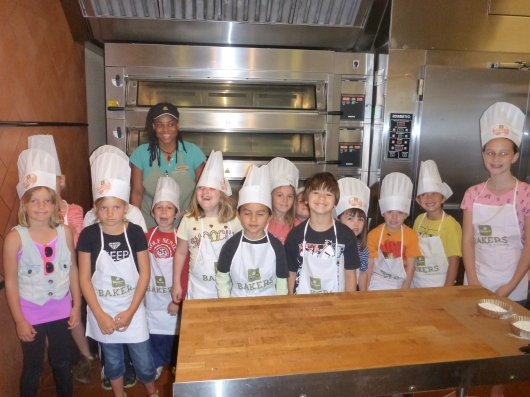"Coastal Cuties' ""Bakers-In-Training"" at Lakewood (CA) Panera Bread!"
