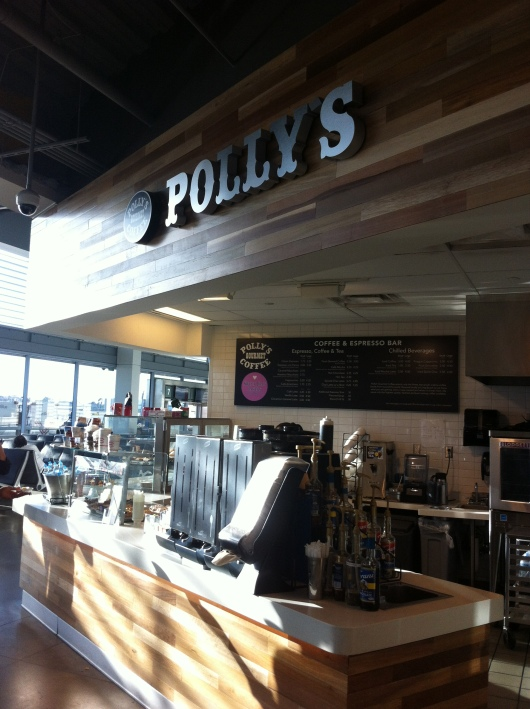 Polly's Gourmet Coffee is part of the hyper-local food and drink offerings now available at Long Beach Airport (LGB).