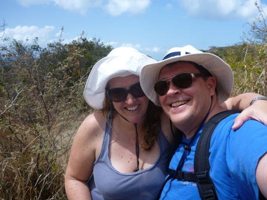 Selfie from the hike. We cute.