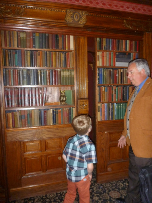 T learns the secret password to get beyond the lobby of The Magic Castle. I won't reveal that here just in case you go. It's more fun to take in that experience personally.