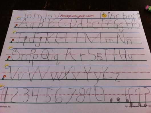 Letters from September 2013.