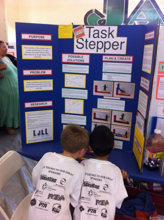 Of course, T and his friend took an interest in this project. Duh.