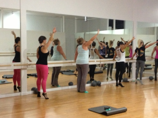 Keeping up with the barre regulars and instructors at Xtend Barre Seal Beach.