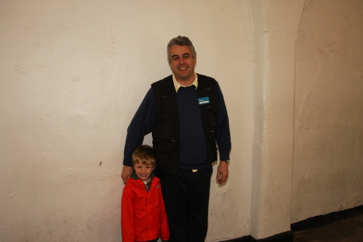 The tour at Kilmainham Gaol is one of the best world over. Thank you, David, for scaring the kids straight.