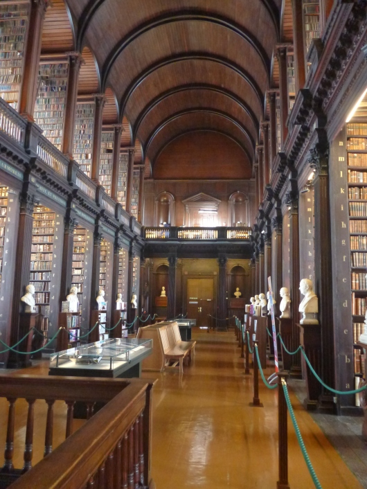 Library at Trinity College Dublin.