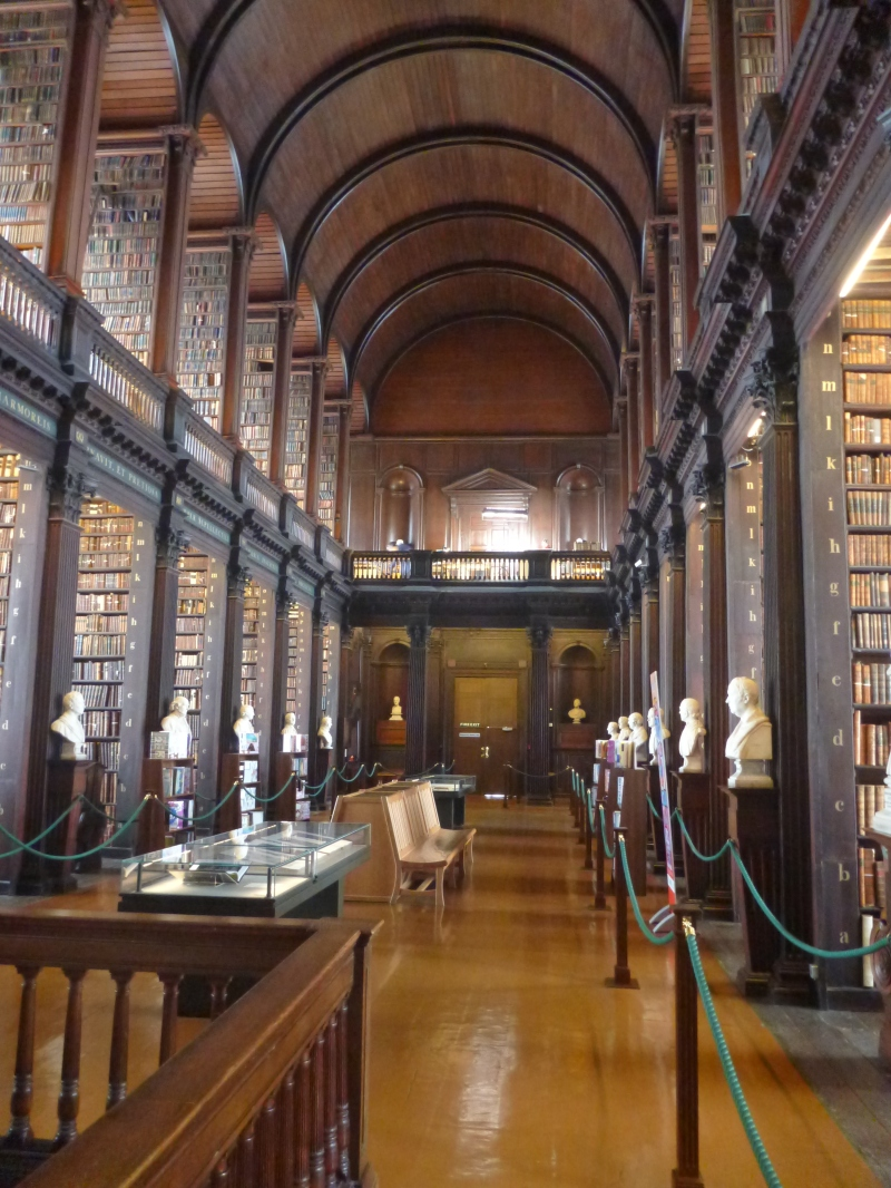 Trinity College Dublin Library April 2013 | Real Mom Time (RMT)